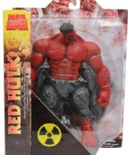 Incredible Red Hulk Action Figure Diamond Select Toys MIB Marvel